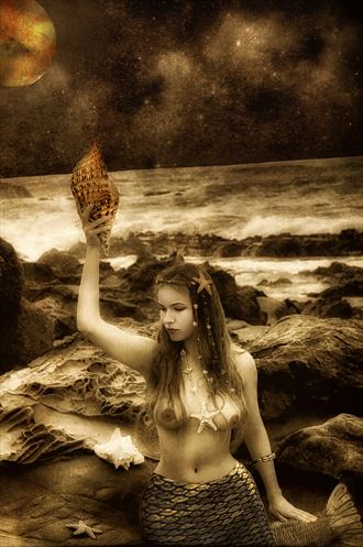 call of the siren series artistic nude photo by photographer mykel
