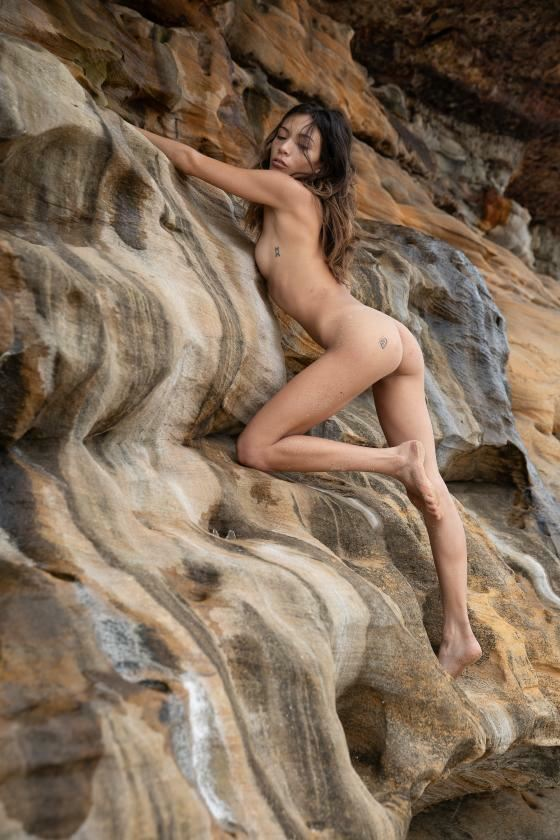 camouflage artistic nude artwork by model lalunagoddess