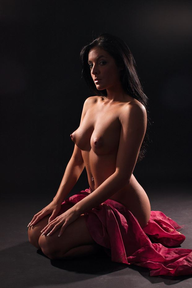 candice teach in artistic nude photo by photographer russb