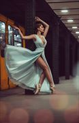 candid photo by model bou