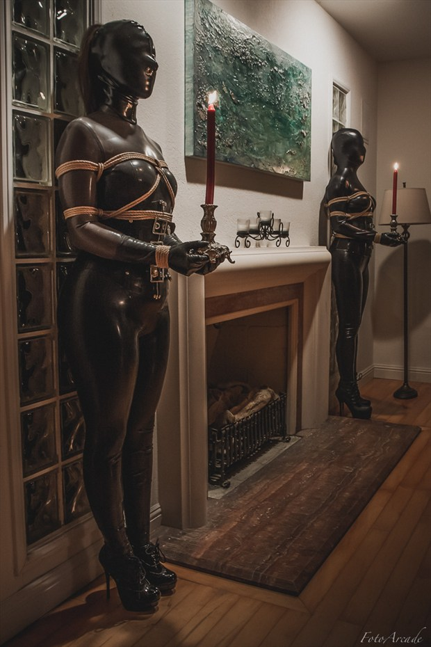 candlestick holders Erotic Photo by Photographer FotoArcade