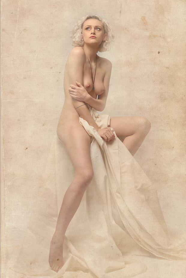 canvas overlay artistic nude photo by photographer acqua e sapone