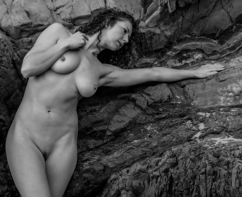 caress the stone artistic nude photo by photographer gpstack
