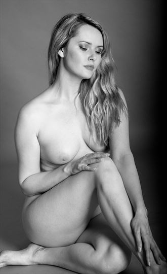 carla artistic nude artwork by photographer ian athersych