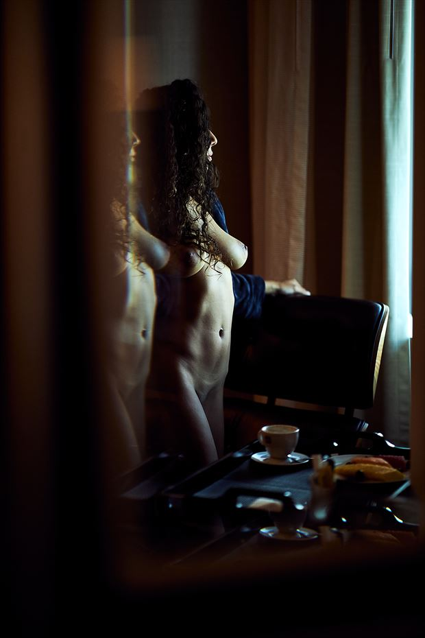 carla in a hotel room artistic nude photo by photographer theprivatelens