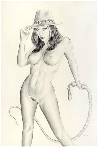 carlotta champagne artistic nude artwork by artist vincent_wolff_art