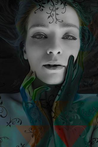 carnival surreal artwork by artist todd f jerde