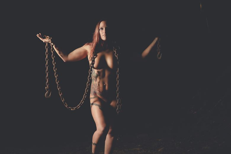 carrying the weight of the world artistic nude photo by model dianawonderwoman2019