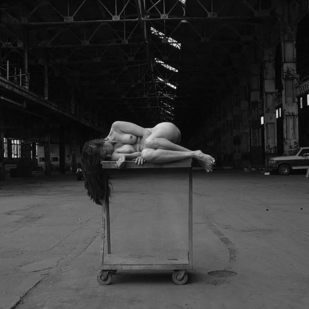 cart artistic nude photo by photographer rkc