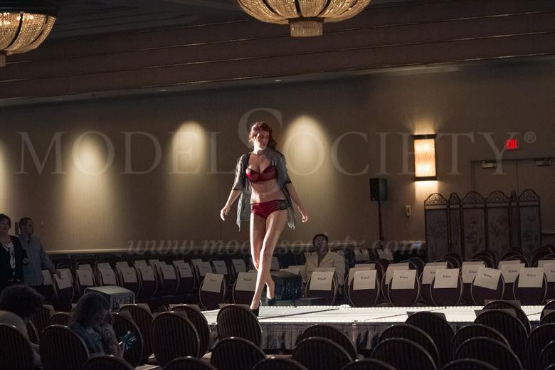 casino fashion show lingerie photo by photographer michael grace martin