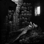 catacombes Fantasy Photo by Artist jean jacques andre