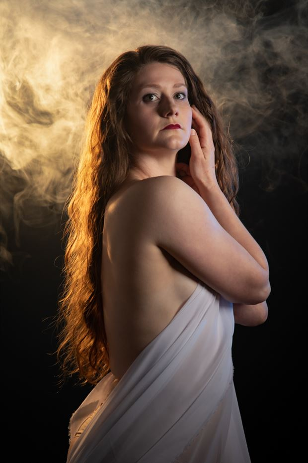 catlin smoke 2 glamour photo by photographer andrewmackay
