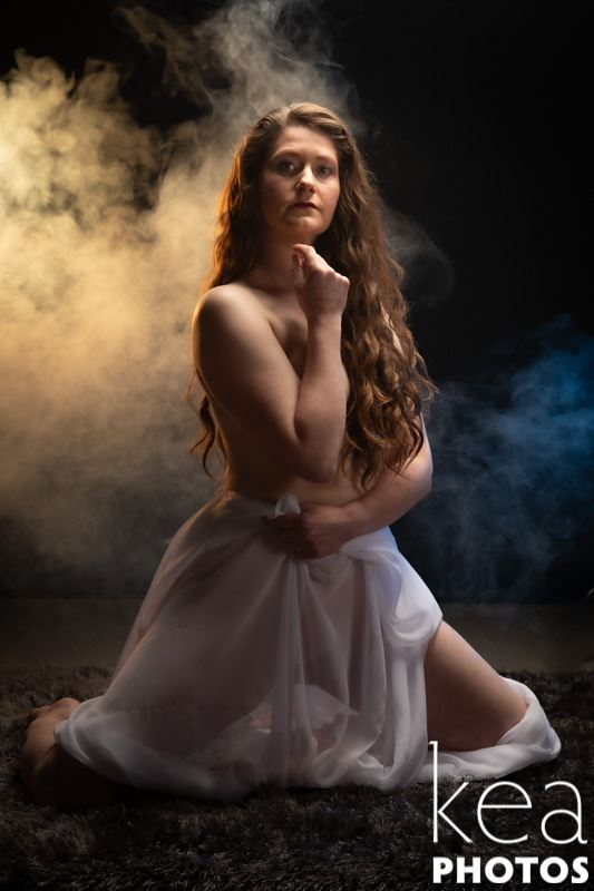 catlin wrapped in smoke 1 sensual photo by photographer andrewmackay