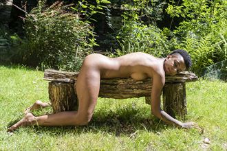 catnap artistic nude photo by photographer paul archer