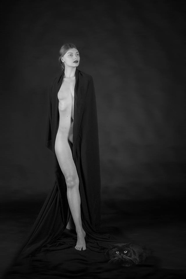 catwoman Artistic Nude Photo by Model Florence