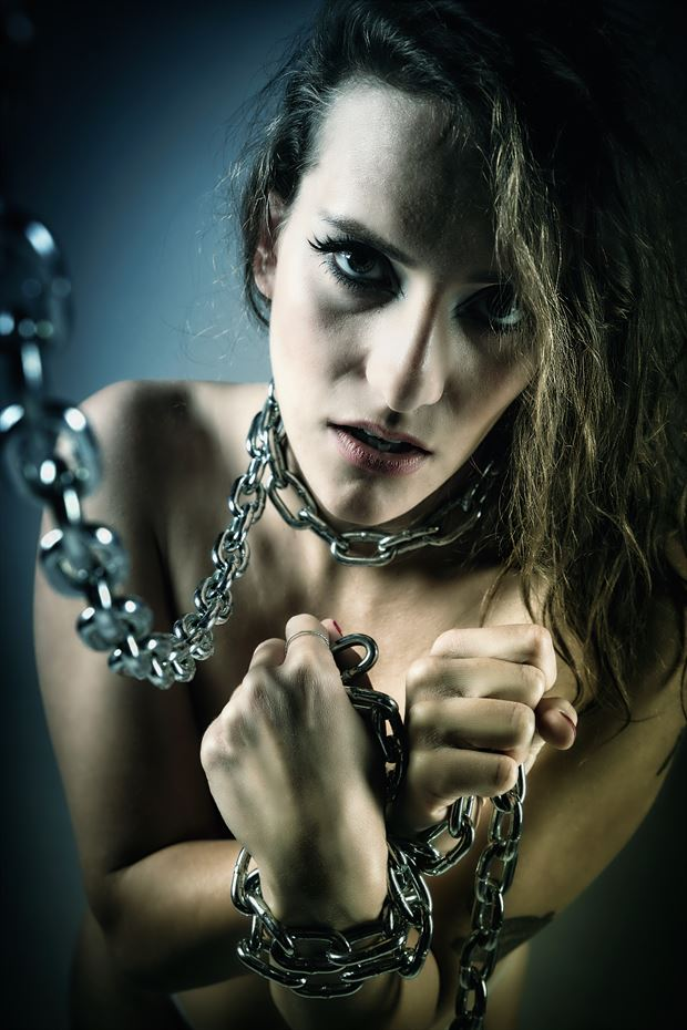 chained 2 erotic photo by photographer ken greenhorn