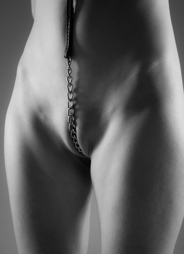 chained artistic nude photo by photographer allan taylor