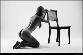 chairleader artistic nude photo by photographer thomas doering