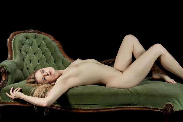 chaise lounge artistic nude photo by photographer simonm