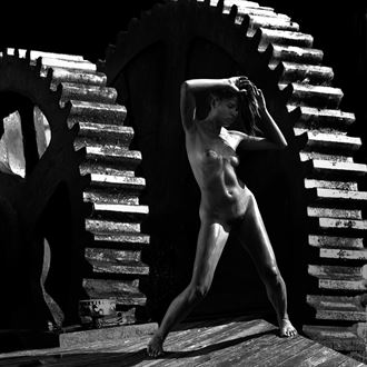 changing gears chiaroscuro photo by artist jean jacques andre