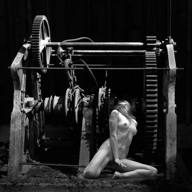 changing gears ii fantasy photo by artist jean jacques andre