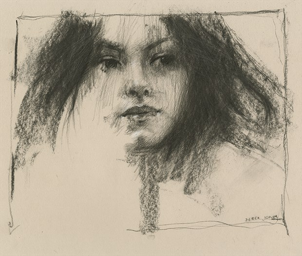 charcoal study Painting or Drawing Artwork by Artist JonD