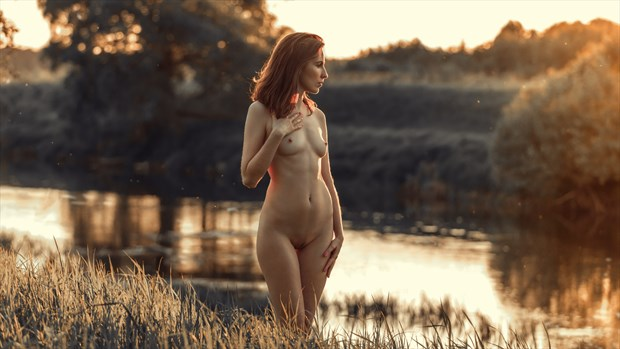 charm of the sunset Artistic Nude Photo by Photographer dml