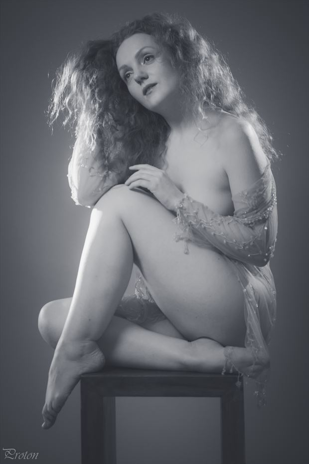 chasing the light artistic nude photo by photographer proton