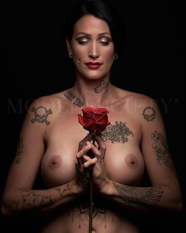 cherry artistic nude artwork by photographer rijad b photography