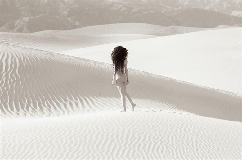 chey desert study 10 artistic nude photo by photographer mountainlight