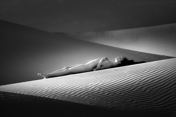 chey desert study 11 artistic nude photo by photographer mountainlight