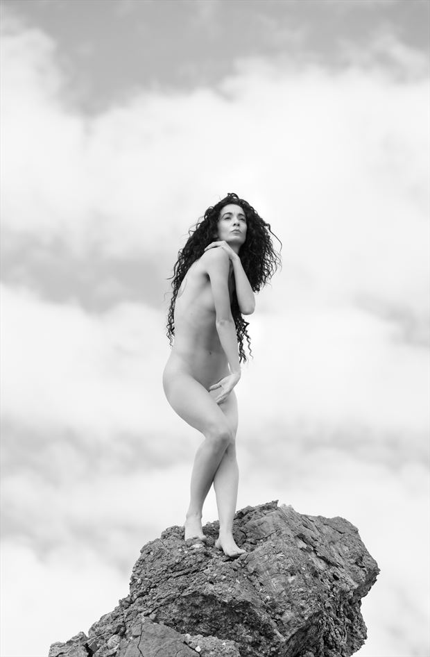 chey desert study 4 artistic nude photo by photographer mountainlight