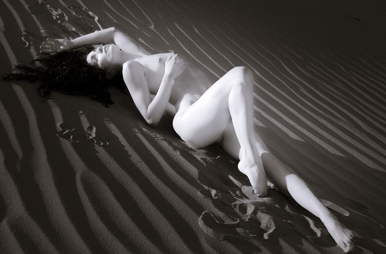 chey desert study 7 artistic nude photo by photographer mountainlight