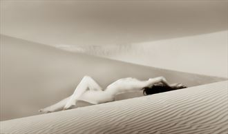 chey desert study 9 artistic nude photo by photographer mountainlight