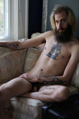 chill dude artistic nude photo by photographer ashleephotog