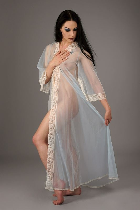 chrissy in a blue neglig%C3%A9e artistic nude photo by photographer anders bildmakare