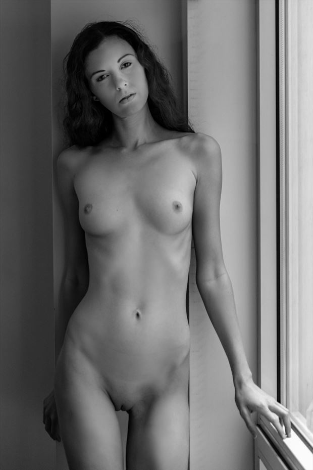 christiana artistic nude photo by photographer claude frenette