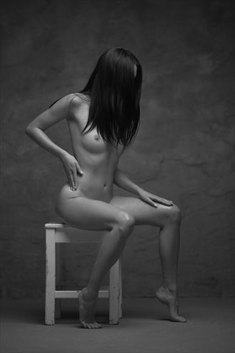 christina artistic nude artwork by photographer oleg kamikaze