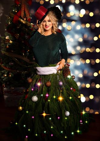 christmas outfit fashion photo by model kelly_kooper