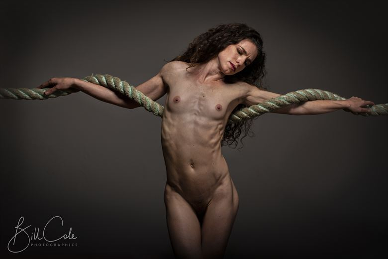 christos artistic nude photo by photographer bill cole