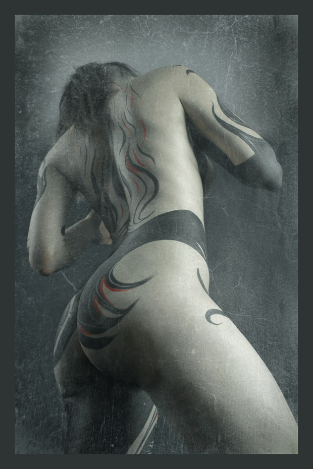 chromosome 11 Artistic Nude Artwork by Model Diana Revo