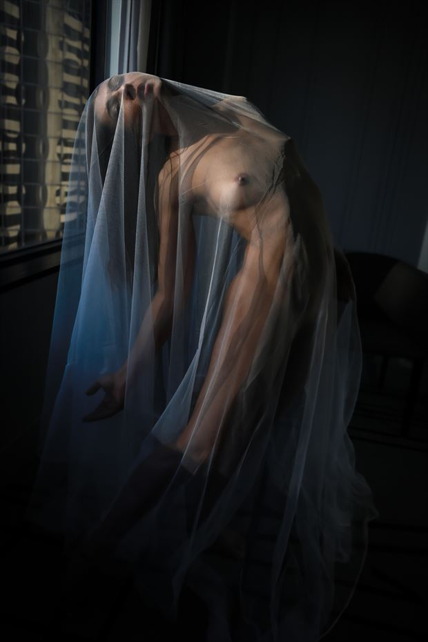 city with m part two artistic nude photo by photographer thomas branch