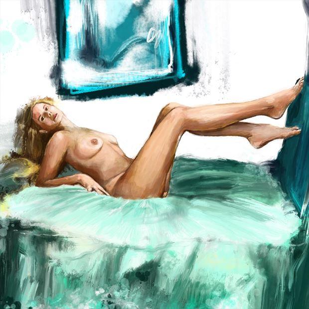 clarity 9 artistic nude artwork by artist nick kozis