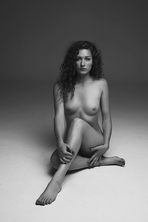 classic Artistic Nude Photo by Model Kirsten page