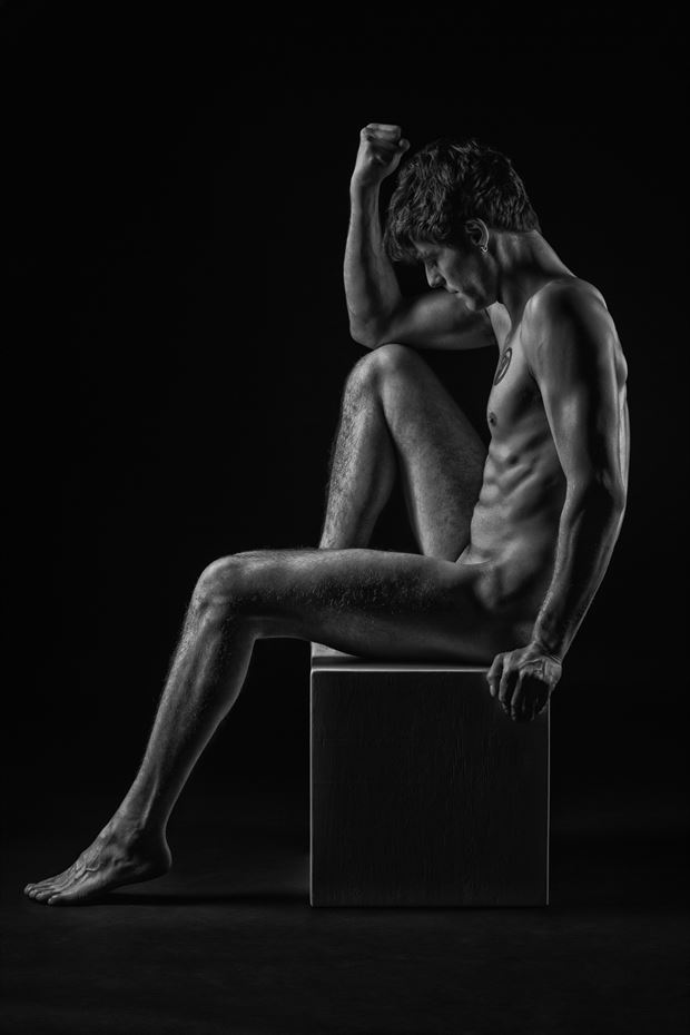 classic figure study artistic nude photo by photographer paul misseghers