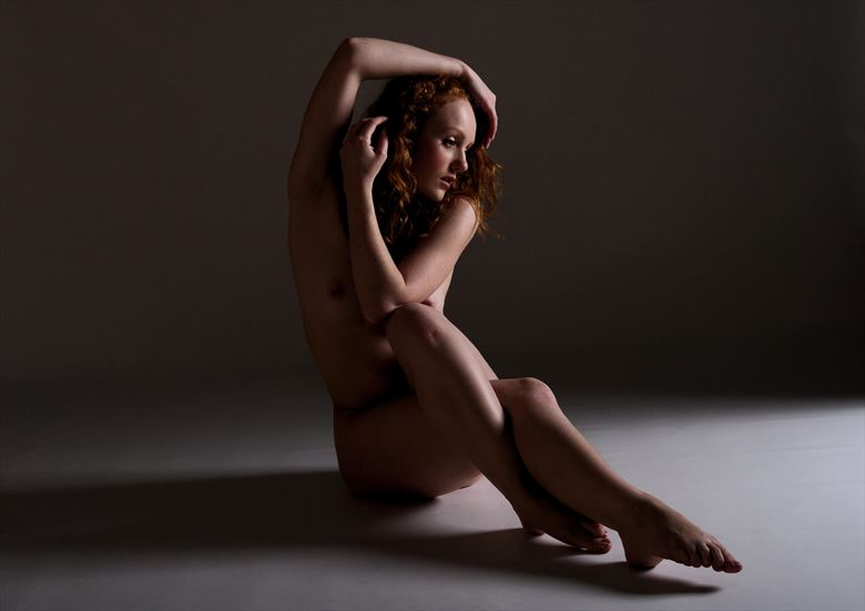 classic ivory artistic nude photo by photographer russb