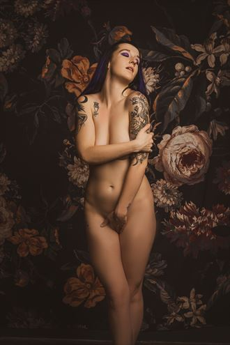 classic pose artistic nude artwork by photographer stange art