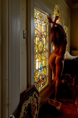 cleaning up my mess artistic nude photo by model beatrice morgana