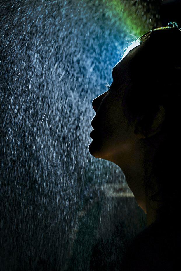 cleansing rain sensual photo by photographer kean creative