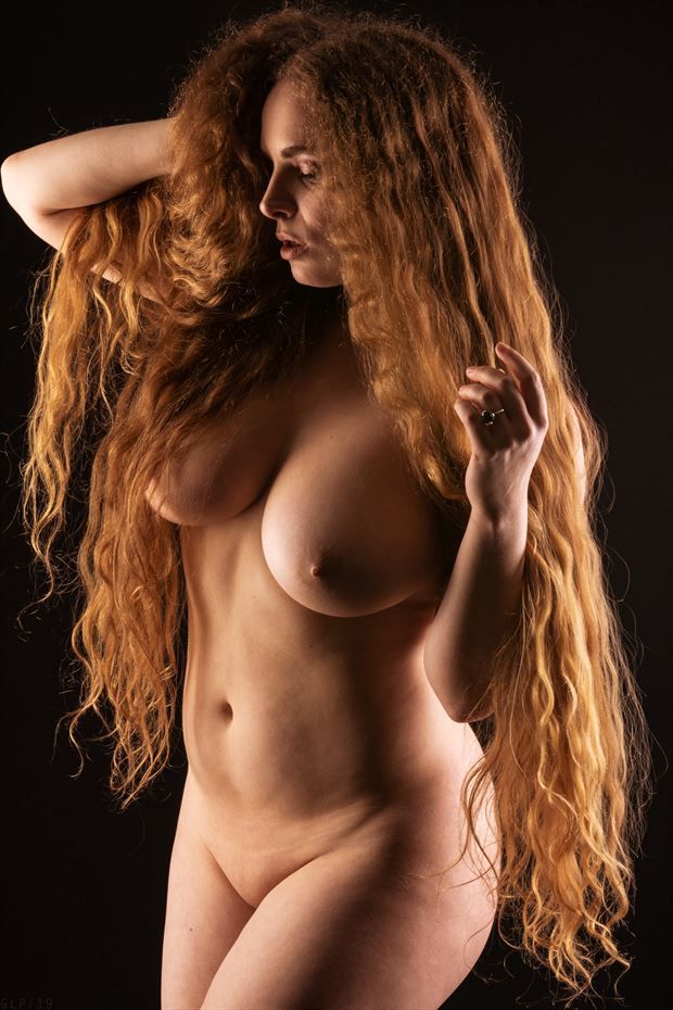 cloaked artistic nude photo by photographer ghost light photo